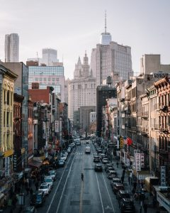 There are some buildings, some cars, but no traffic jams, one of the 5 Reasons why you should move from NYC to NJ.