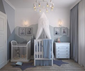 Setting kids' room after moving to New Jersey with kids.
