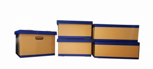 Cardboard boxes you will need when decluttering your elderly loved one's home.