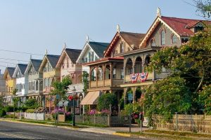 Cape May, New Jersey, houses - This beautiful environment can be one of the reasons why so many people are moving from New York to New Jersey.