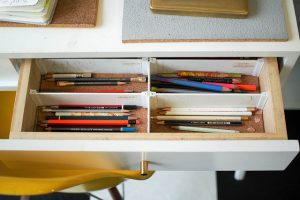 Drawer Pen - Pack to save space when moving