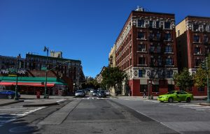City view in Harlem, one of the best NYC neighborhoods for newcomers.