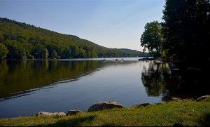 Nature and lake.