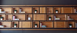 Wall shelfs.