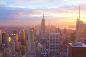 an image of New York and the Empire State building